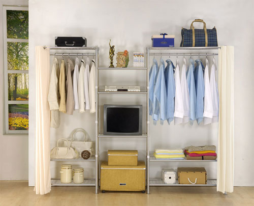 Portable Clothes Storage, Clothing Storage Wardrobe - AHD-58-02